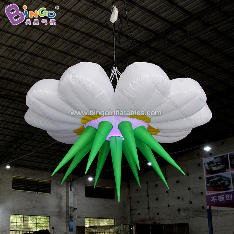 BG-Z0076-充气灯光花朵气模