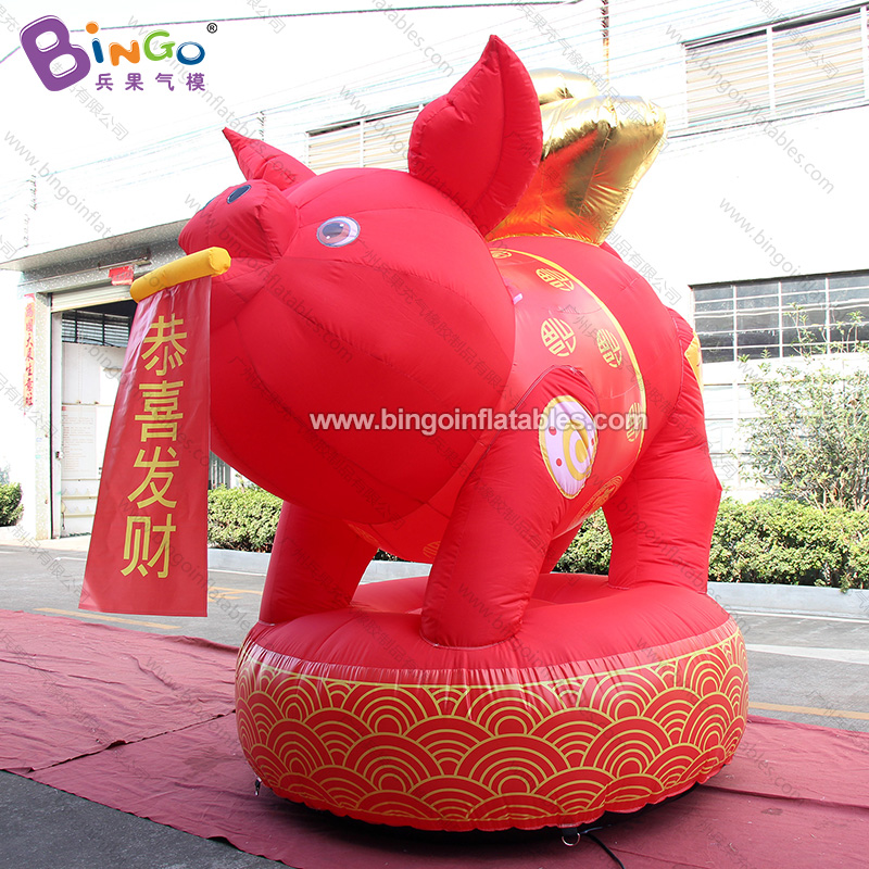 BG-C0240-充气金猪元宝气模