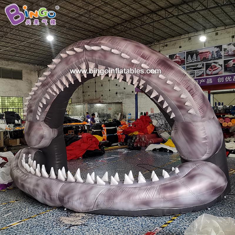 BG-O0113-充气鲨鱼嘴气模