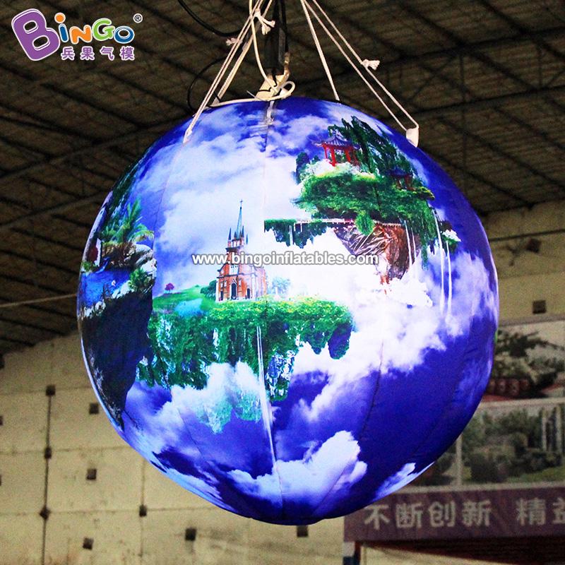 BG-Z0115-充气悬挂天空之城气模