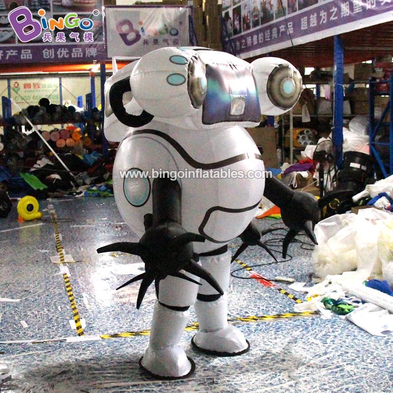 BG-C0347-充气机器人行走卡通气模