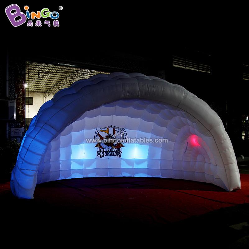BG-T0237-充气半圆灯光帐篷气模