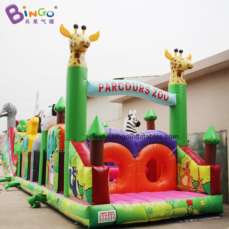 BG-G0024-充氣長條障礙物玩具氣模