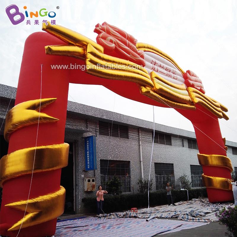 BG-A0713-2-充气皇冠大拱门气模