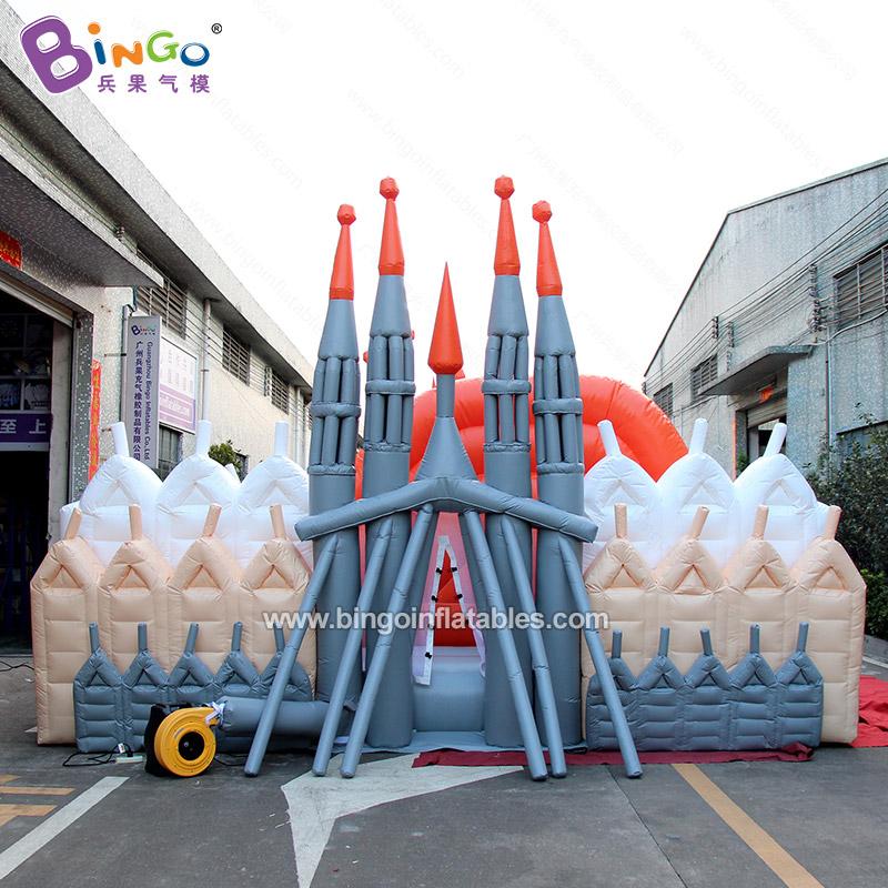BG-G0499-充氣城堡滑梯彈床氣模