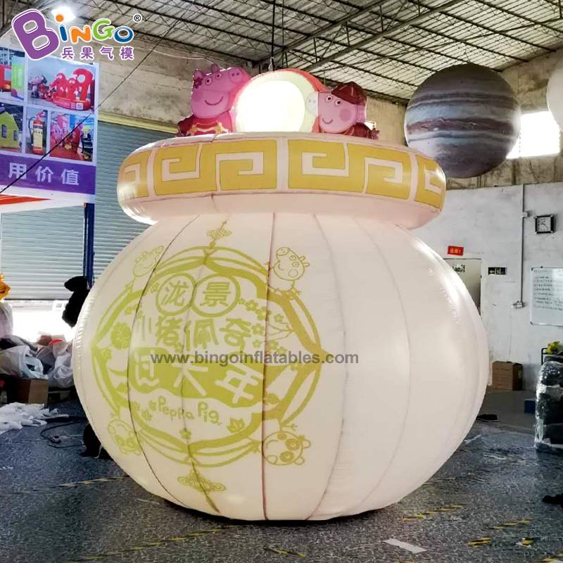 BG-Z0086-充气小猪过年灯笼气模