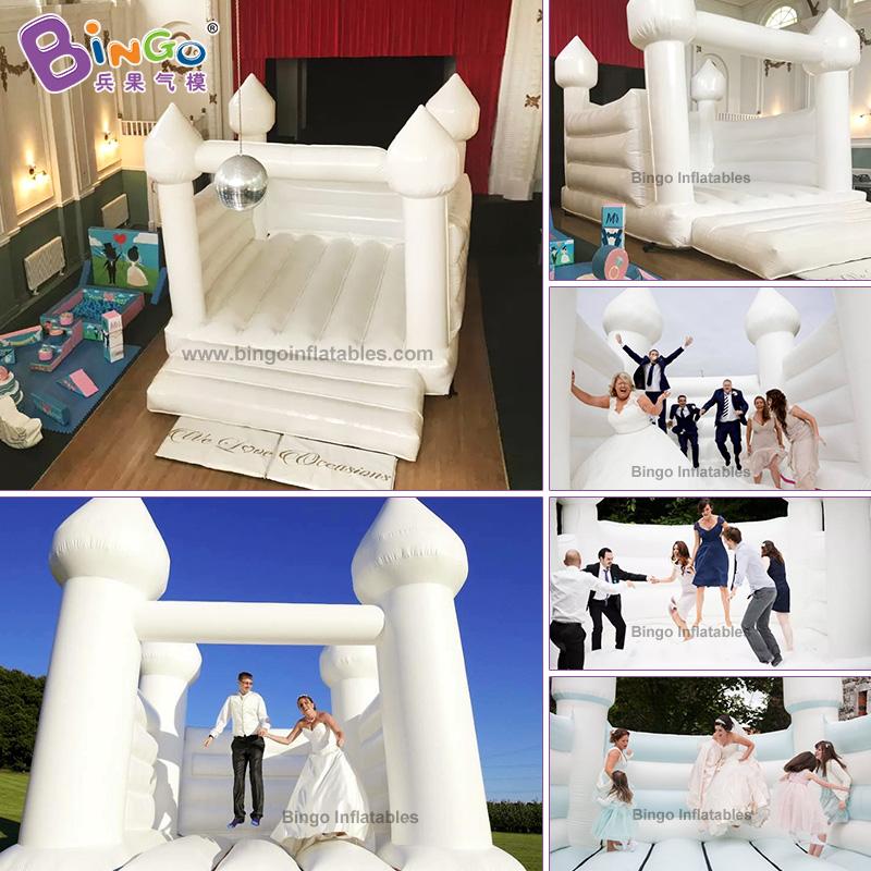 BG-G0048X-3-充氣婚禮蹦床氣模