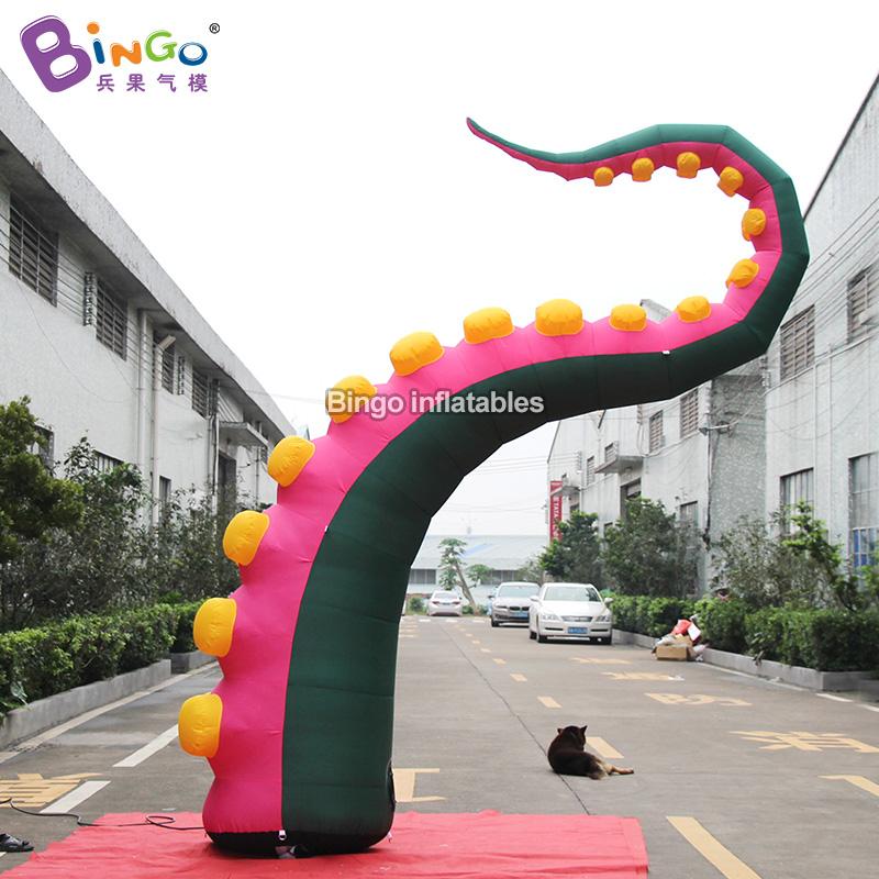 BG-O0114-充气绿色双吸盘章鱼腿气模