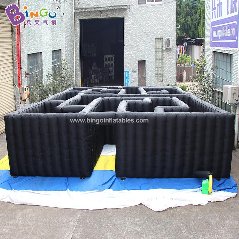 BG-G0467-3-充气黑色迷宫气模