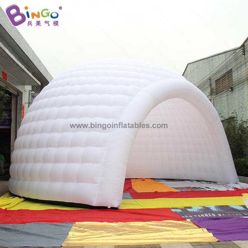 BG-T0116-2-充氣圓頂燈光帳篷氣模