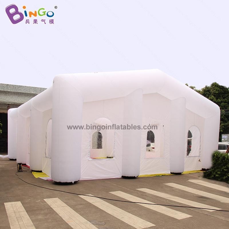 BG-T0229-充氣白色帳篷氣模