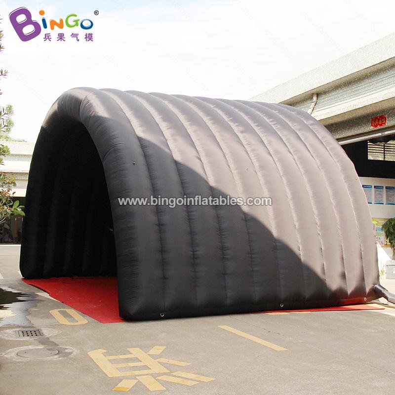 BG-T0227-充气黑色舞台帐篷气模