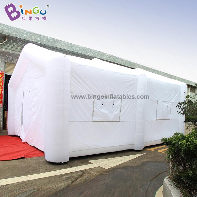 BG-T0219-充氣白色帳篷氣模