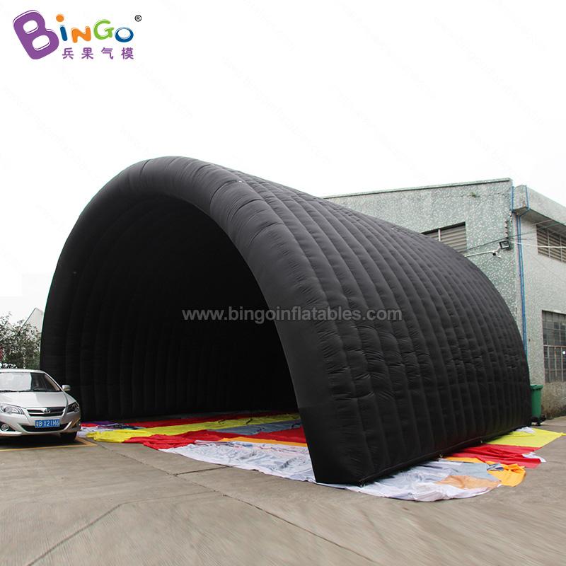 BG-T0205-充气黑色舞台帐篷气模
