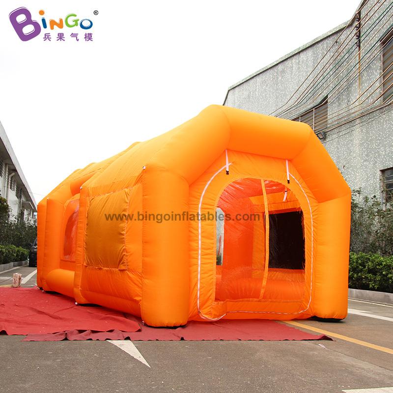 BG-T0206-充气橙色无尘帐篷气模