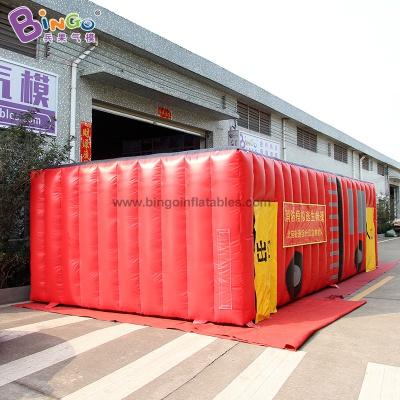 BG-X0233-充氣消防車消防帳篷氣模