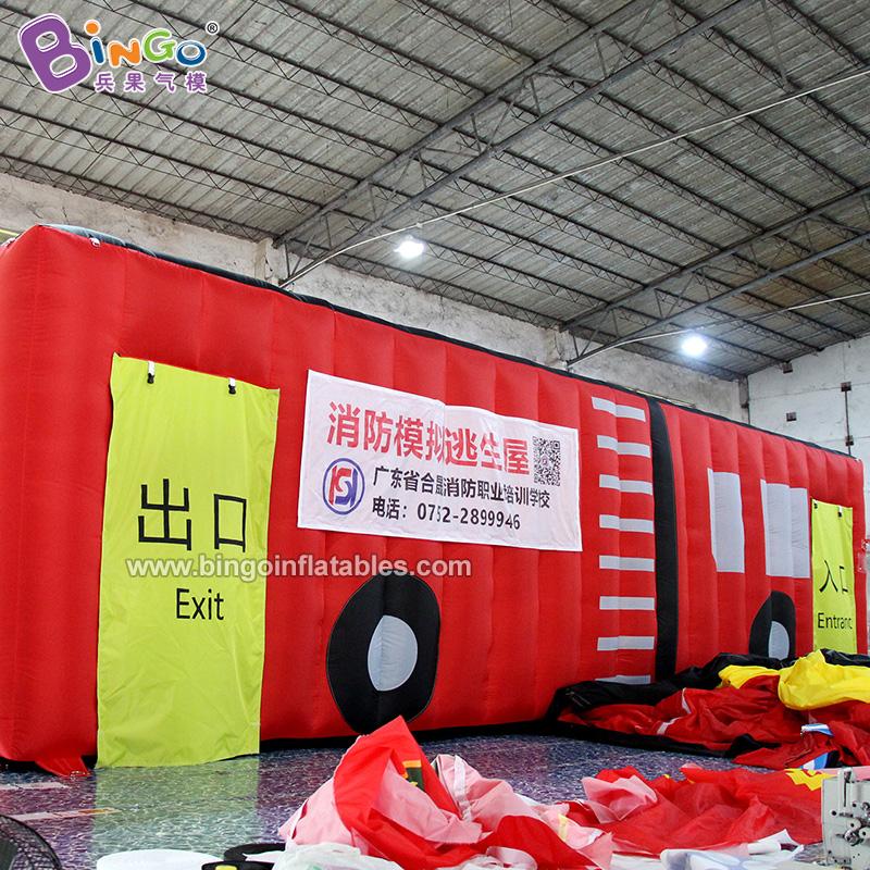 BG-X0231-充氣消防車消防帳篷氣模