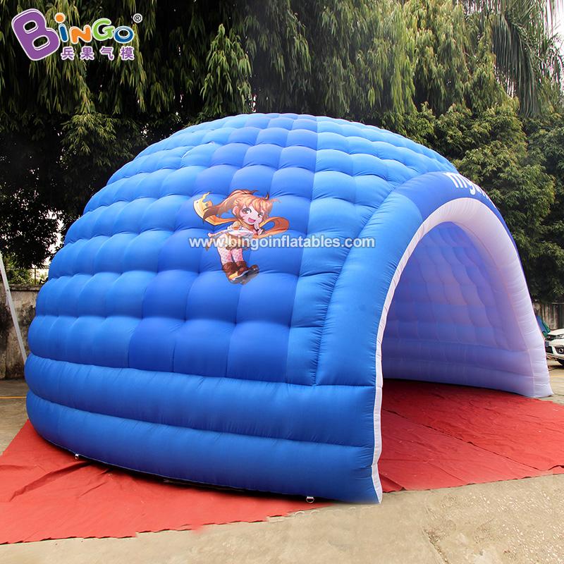 BG-T0248-充氣圓頂燈光帳篷氣模