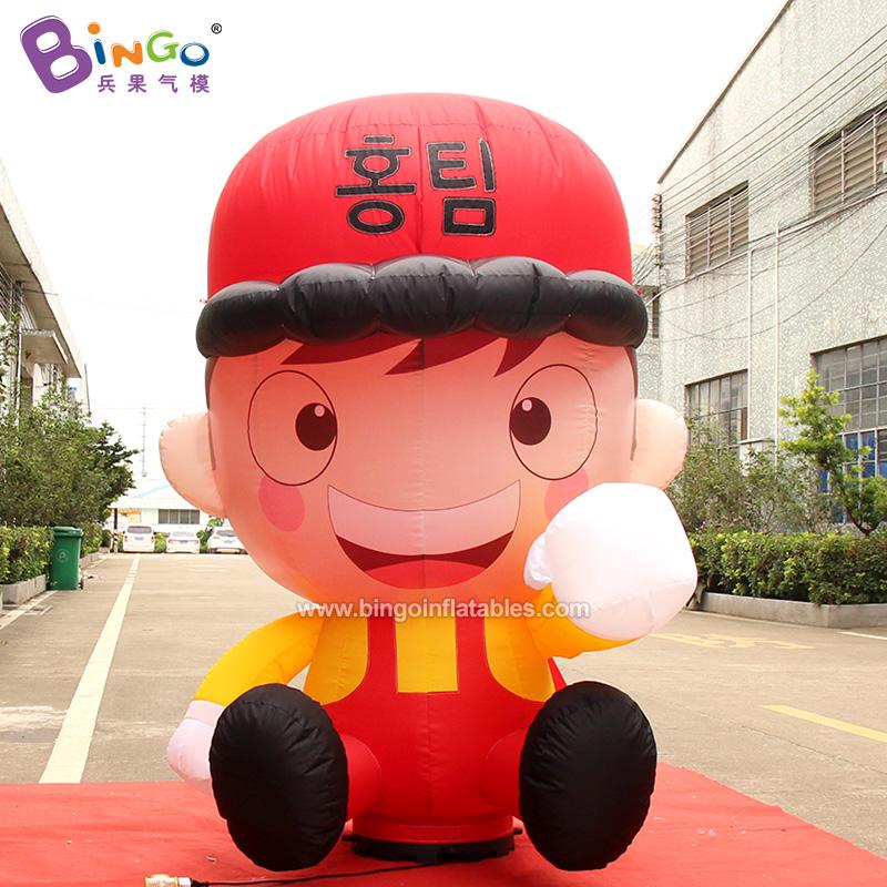 BG-C0359-充气小红帽卡通气模
