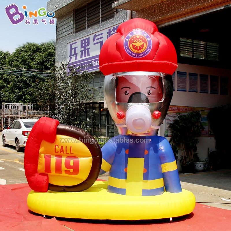 BG-X0282-充气消防员气模