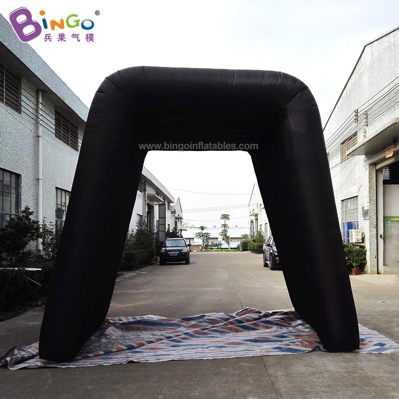 BG-A0927-充气黑色通道气模