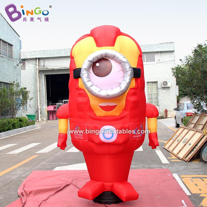 BG-C0214-充气钢铁侠小黄人卡通气模