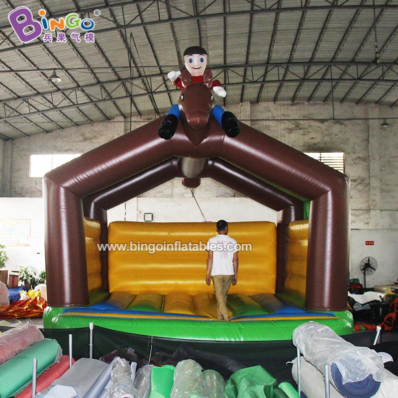 BG-G0481-充气人骑马蹦床气模