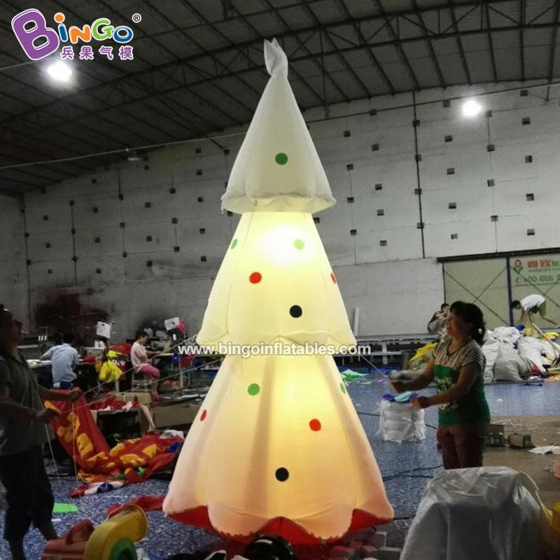 BG-A0757-充气灯光圣诞树气模