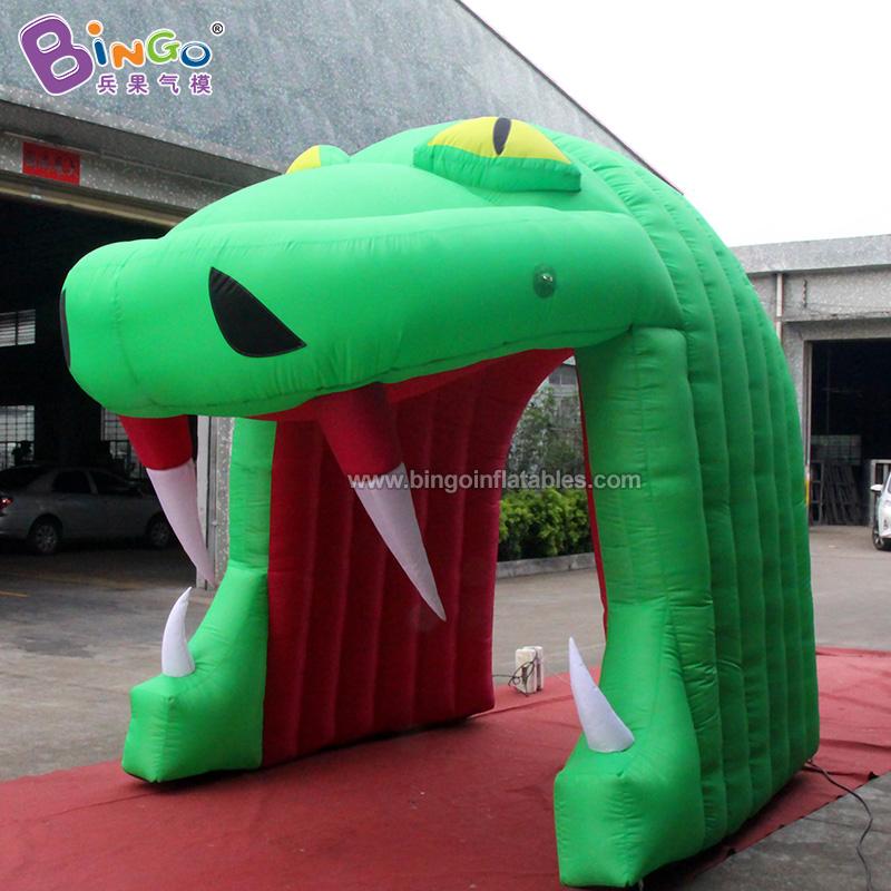 BG-T0066-充气蛇头通道气模