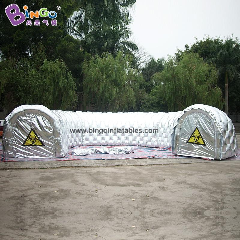 BG-A0169-充氣銀色通道氣模