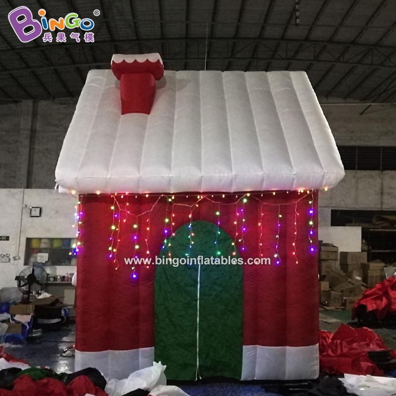 BG-A0503-充气圣诞小房子气模
