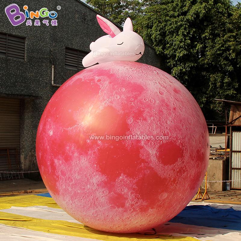 BG-Z0139-充氣玉兔赤月氣模