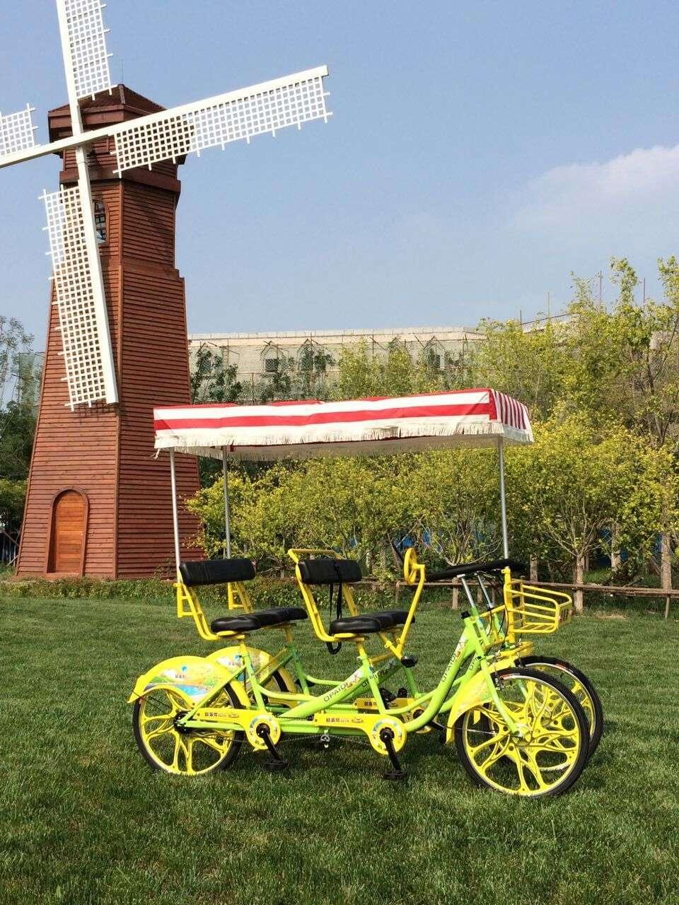 4座雙聯排自行車