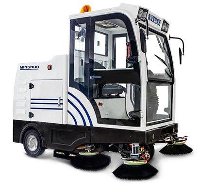 自卸式掃地車