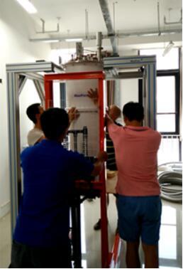 BF-LD250稀釋制冷機在清華大學順利驗收