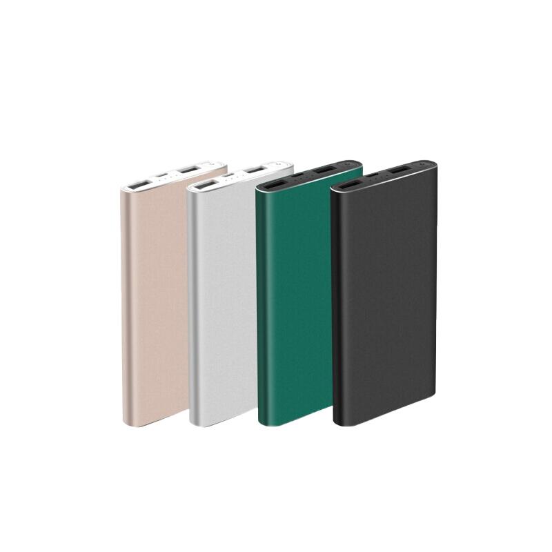 XO 金属移动电源 PR101(绿/粉/黑/银色)10000MAH