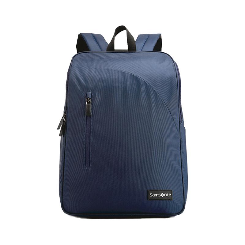 企业专享 新秀丽(Samsonite)双肩背包 休闲包(深蓝色/橙色)664*75019