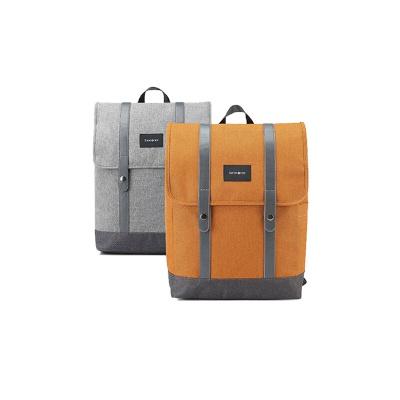 企业专享 新秀丽(Samsonite)双肩背包 (灰色/橙色)96Q*08018/96Q*96018
