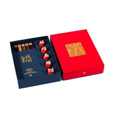 字器 府宴 五福临门杯筷套装茶具 起订量100件