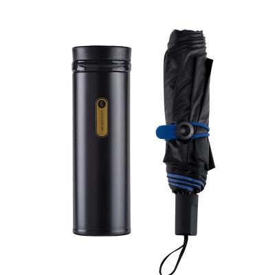 K.S. 天安轻旅套装KS-710 保温杯300ml单杯(酷黑/暖白)