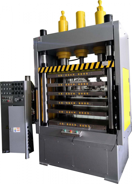 YT-RS係列150噸多層熱壓成型機