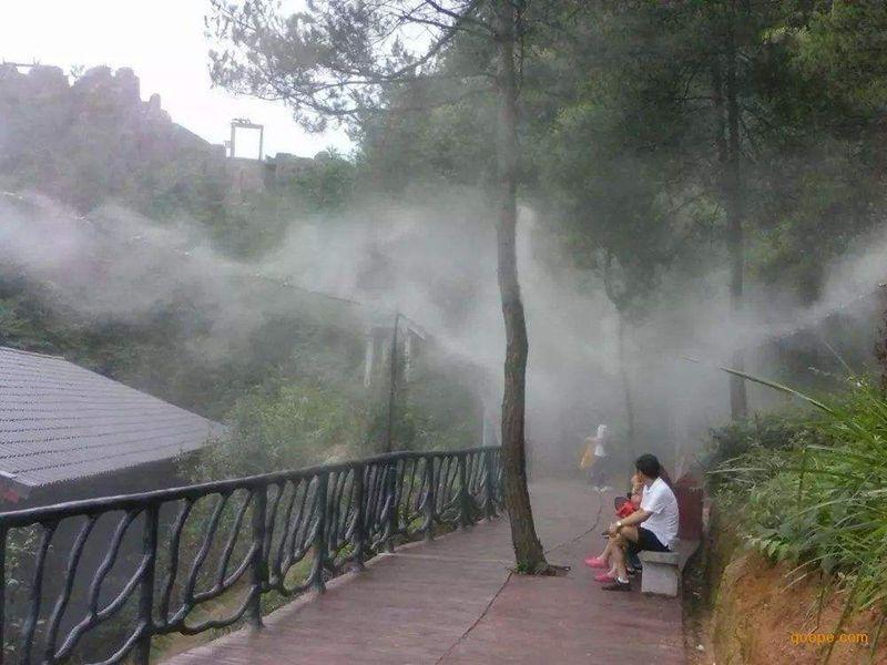休息區噴霧降溫
