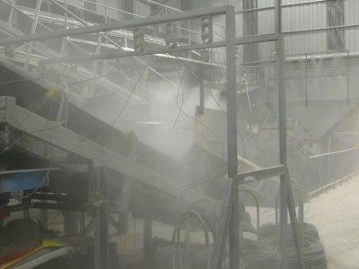 除塵用高壓噴霧設備