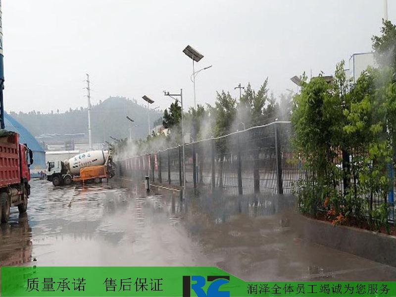 工地圍欄噴霧除塵