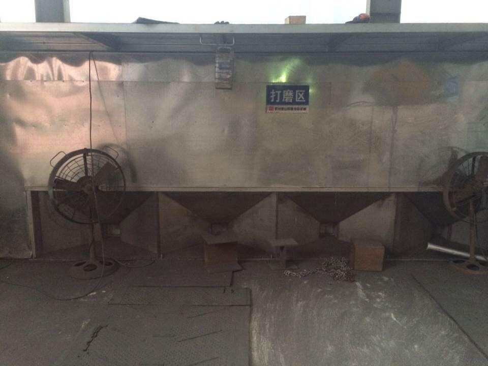 砂處理設備、樹脂砂設備案例現場
