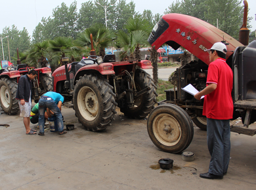 农业机械维修中的九个不能