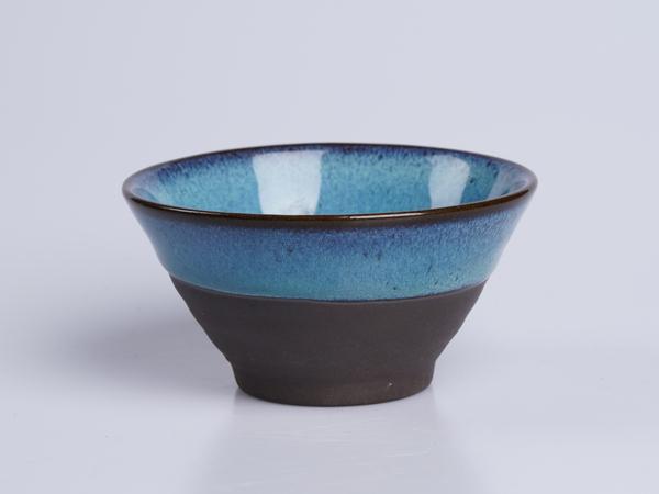 紫泥均釉小碗