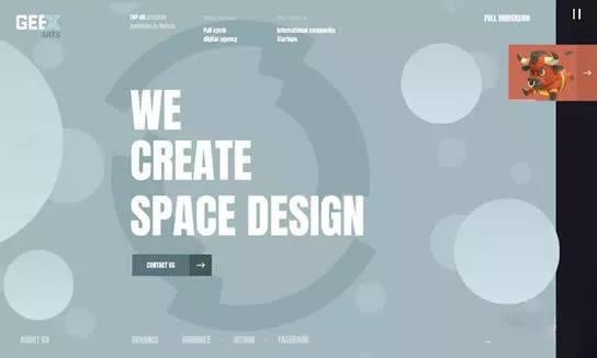 英文網站建設價格及創意設計案例