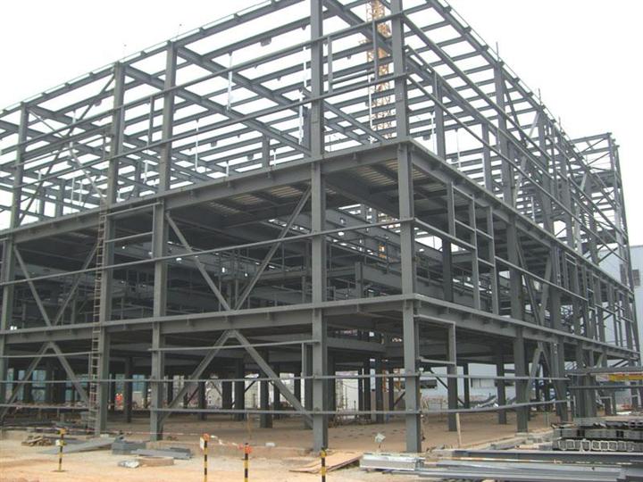 鋼結構廠房檁條用高頻焊接H型鋼LH250*150*3.2*4.5
