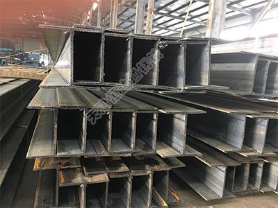 鍍鋅高頻焊接薄壁H型鋼檁條LH300*150*4.5*6